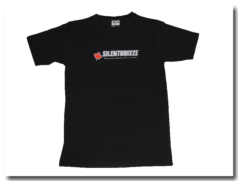 Silentbreeze Team T-Shirt Black